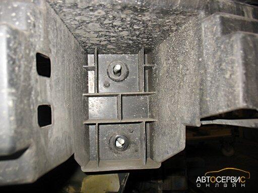 Регулировка усилителя бампера по высоте