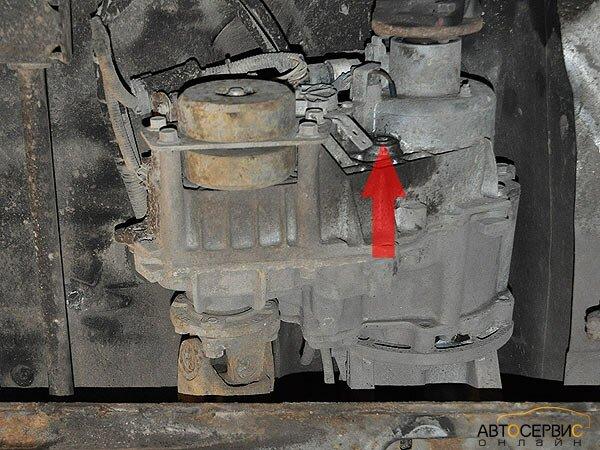 ТаГАЗ Tager. Пробка заливного отверстия раздаточной коробки