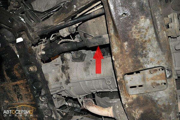 ТагАЗ Tager. Положение карданного вала относительно хвостовиков раздаточной коробки и переднего редуктора