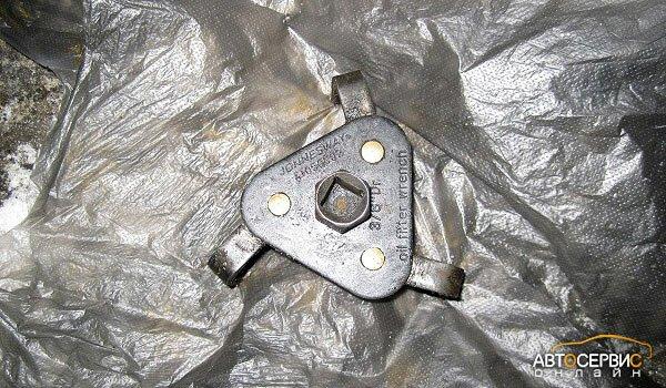 Инструмент для снятия масляного фильтра