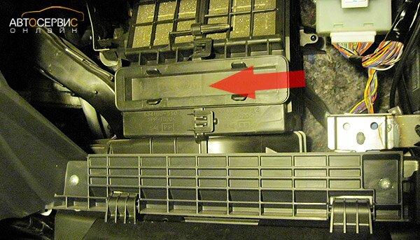 Замена воздушного фильтра сузуки sx4 своими руками
